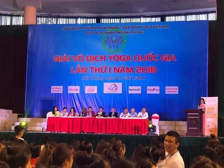 Bế mạc Giải vô địch Yoga Quốc gia lần thứ I năm 2018
