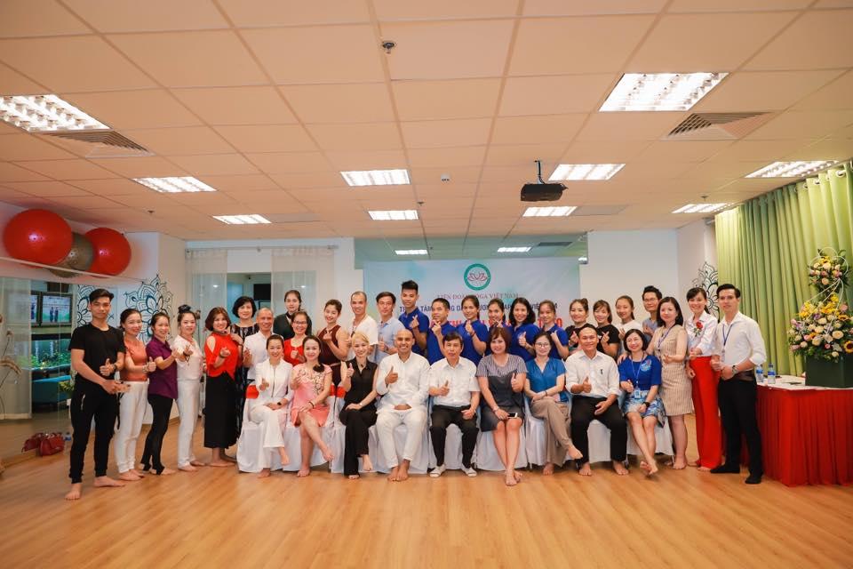 Hình ảnh Lễ Khai mạc Lớp tập huấn thi đấu Yoga thể thao trong nước và quốc tế 2019