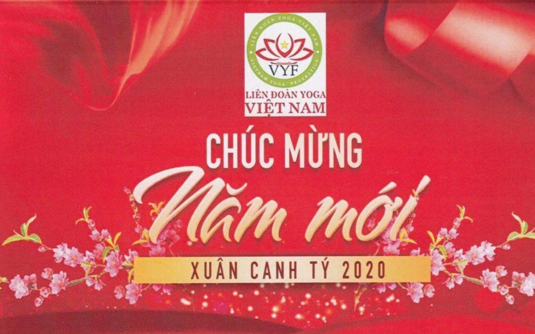 Liên đoàn Yoga Việt Nam CHÚC MỪNG NĂM MỚI 2020
