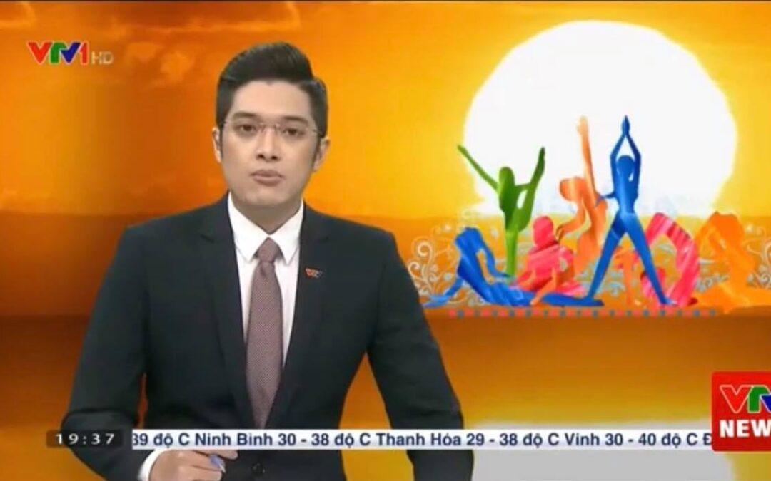 BẢN TIN VTV1 THỜI SỰ 19H tối ngày 21/6/2020 về Ngày Quốc tế Yoga 21/6 tại Việt Nam