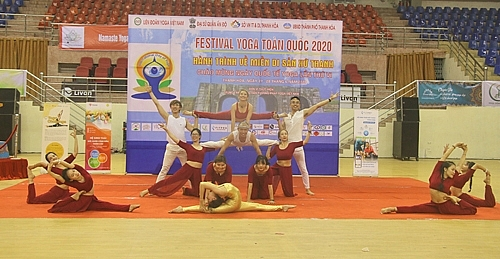Các màn trình diễn đặc sắc tại Festival Yoga toàn quốc 2020