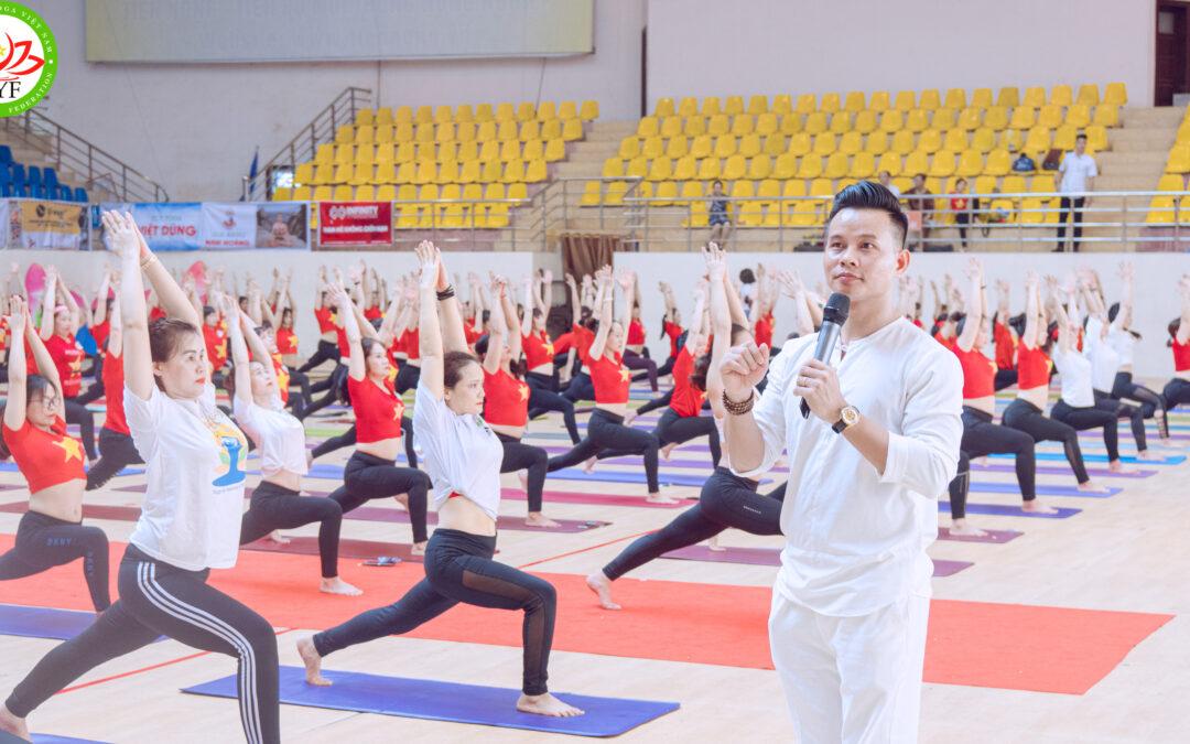 Hướng dẫn thực hành Yoga tại Festival Yoga Toàn quốc 2020 – Hành trình về miền di sản xứ Thanh